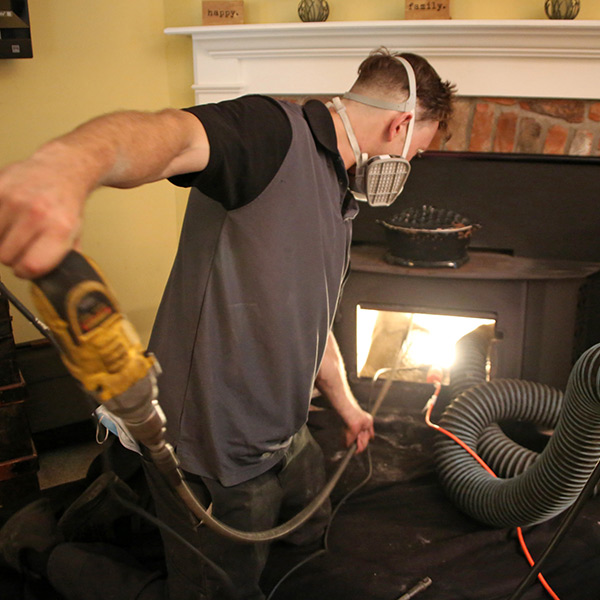 Chimney Cleaning by Certifed Chimney Sweep in Hartford CT - Farmington Ave